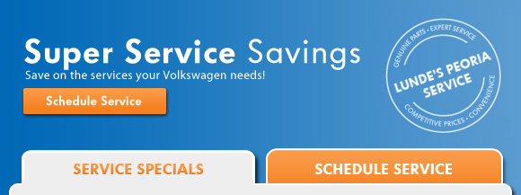 Super Service Savings - Schedule Service