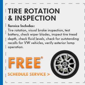 Tire Rotation & Inspection - FREE