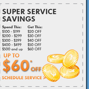 Super Service Savings Up To $60