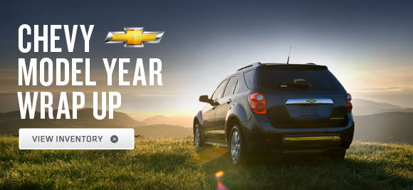 Chevy Model Year Wrap Up - View Inventory