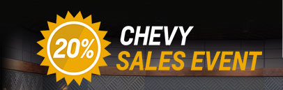 20% Chevy Sales Event